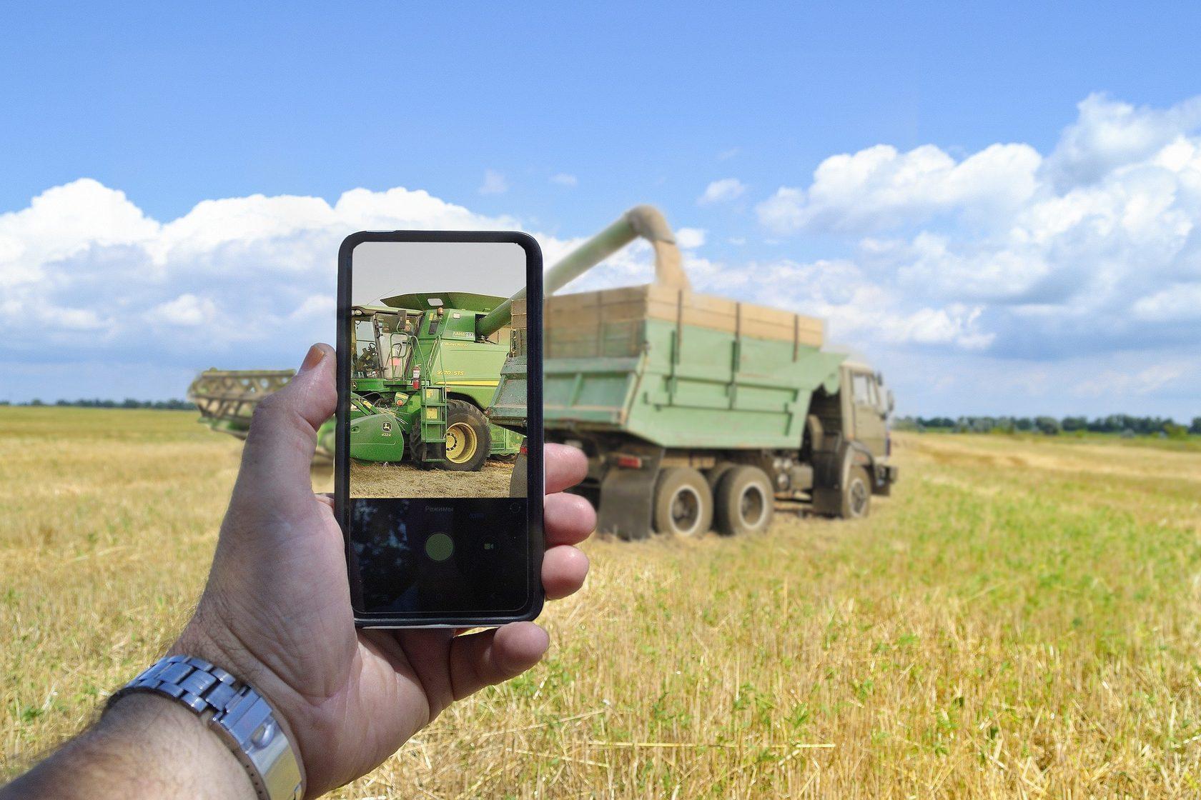GPS мониторинг в сельском хозяйстве.